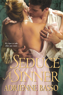 adrienne basso's HOW TO SEDUCE A SINNER